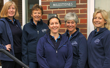 Milestones Neurorehabilitation Physiotherapy Team